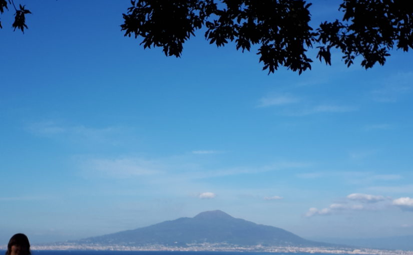 Die Besteigung des Vesuvs