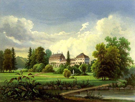 Galerie zum Karlsburger Schloss und der Park
